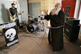 Italy's Heavy Metal Monk Shuts Off His Mike